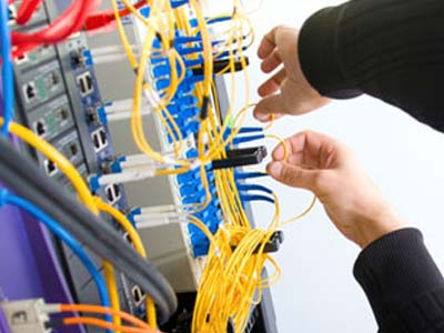 Fiber Optic - Electrical Contracting Services